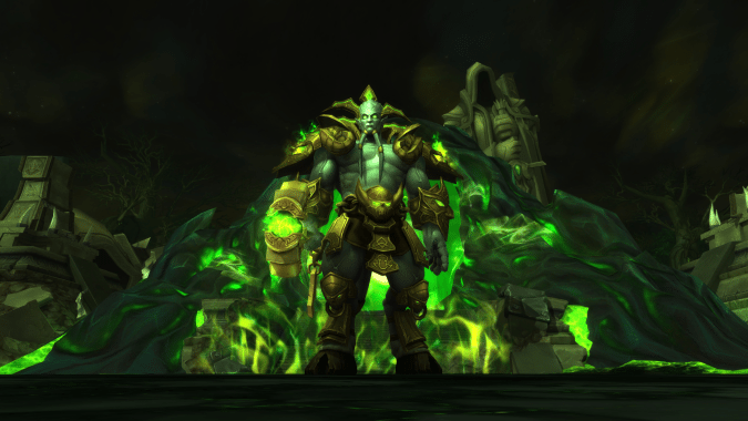 Join the Legion with these Hellfire Citadel-themed transmogs