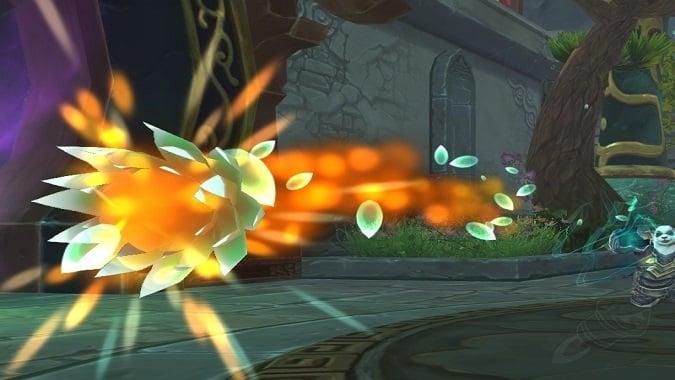 spinning fire blossom