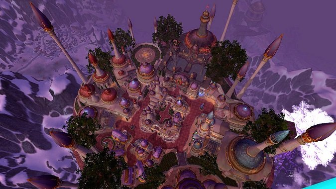 dalaran from above