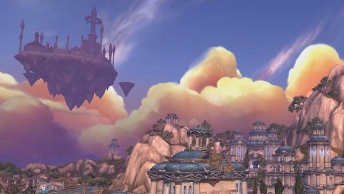 dalaran over broken isles