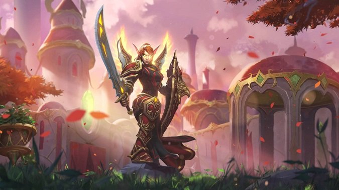liadrin, class leader of paladins