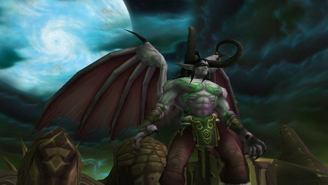 illidan black temple, old model