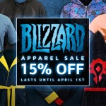 All Blizzard Gear Store apparel now 15% off