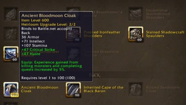 heirloom collection to 100