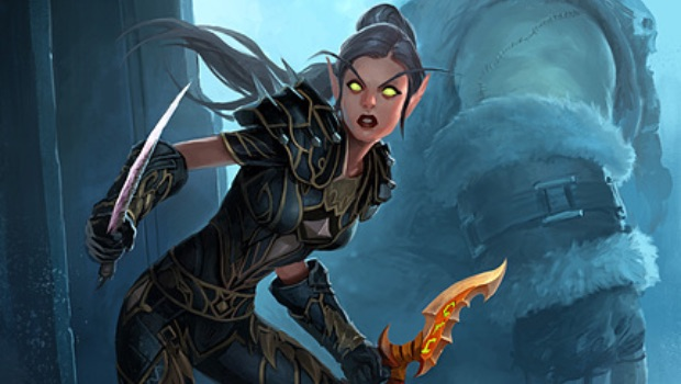 blizzard art elf rogue header