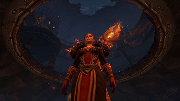 Human caster in Blackrock Foundry