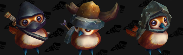 Pepe costumes courtesy of Wowhead