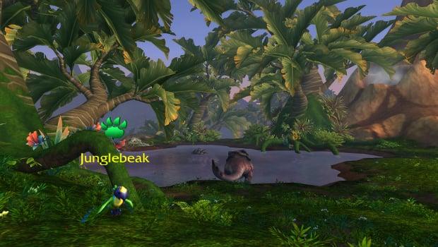 junglebeak gorgrond