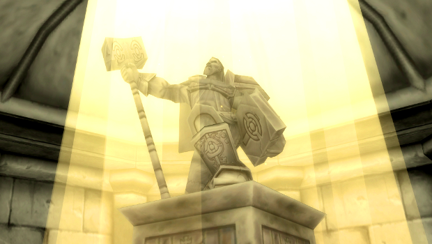 Statue of Uther Lightbringer