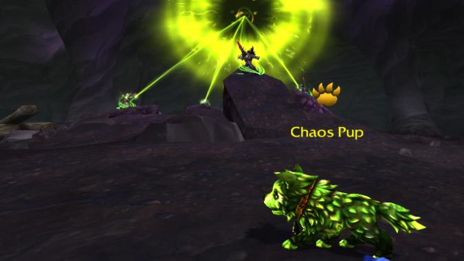 chaos pup tiny terror