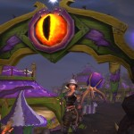 Pet battles at the Darkmoon Faire
