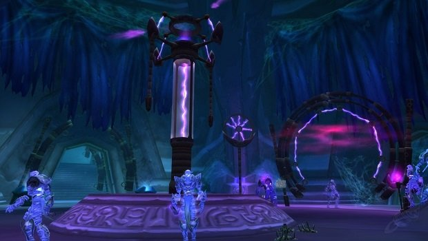 Ethereals in Mana Tombs