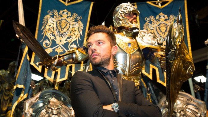 dominic cooper llane warcraft movie sdcc header