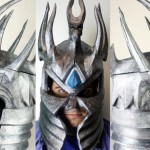 Francesco Orrù 3D prints a wearable Lich King helm
