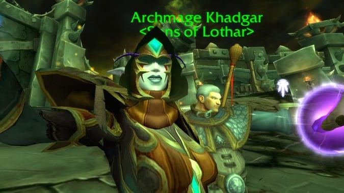 rogue-selfie-with-khadgar-hellfire