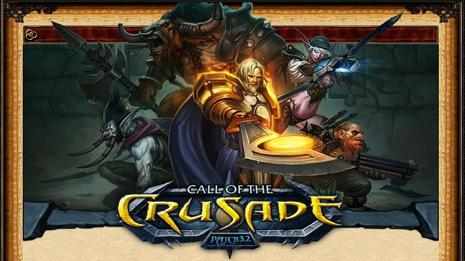 Call of the Crusade logo