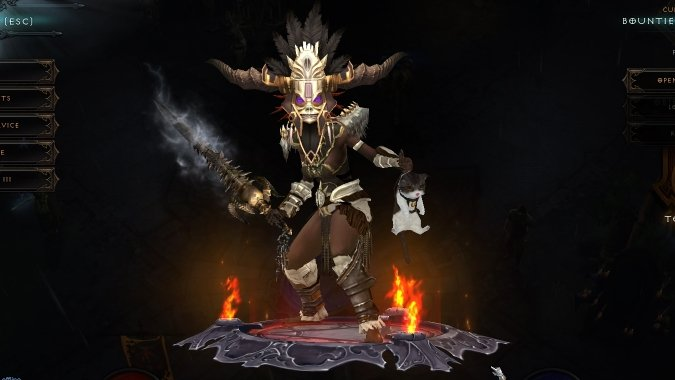 Diablo 3 Seasonal Hardcore Witch Doctor