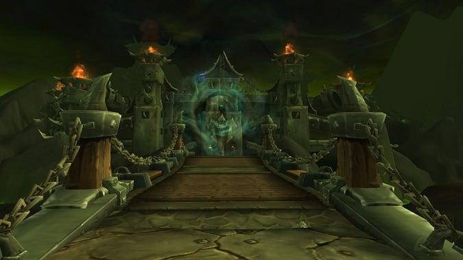 Hellfire Citadel's raid portal
