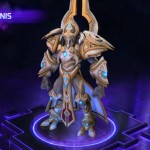 Heroes of the Storm Warrior Artanis ability and talents datamined