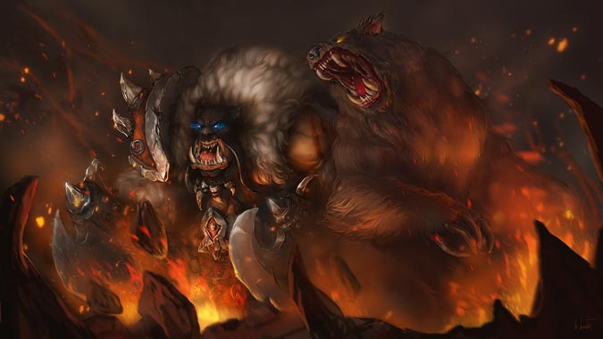 Warcraft art
