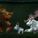 BlizzCon 2015: Baby moose models invading our hearts in Legion