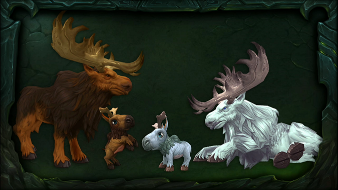 Moose models from legion