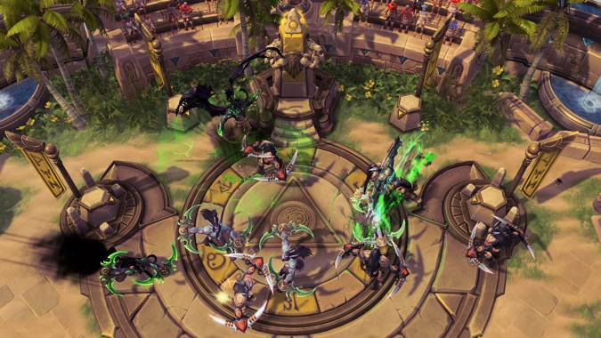New Heroes Of The Storm Arenas Map And Hero Photos