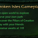 BlizzCon 2015: All Broken Isles leveling zones scale to your level