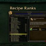 Legion Beta: Datamined professions data reveals new raw materials and recipes