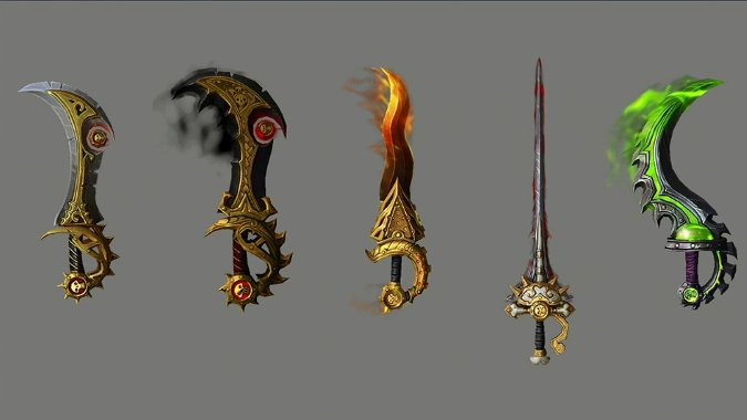 Combat artifact weapon skins