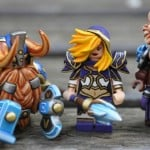 Heroes of the Storm characters as Lego figures