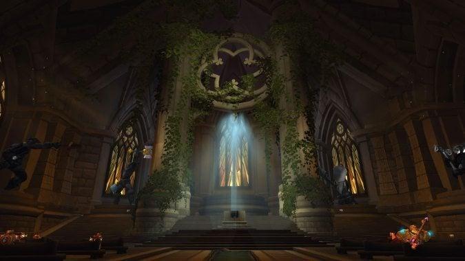 Legion : Rogue Class Order Hall | Dalaran Sewers | World ... |Class Order Halls Map