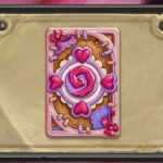 Hearthstone's January card back is You've Won My ♥-Stone