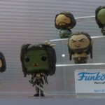 Warcraft Movie Funkos and other merchandise from toy fair