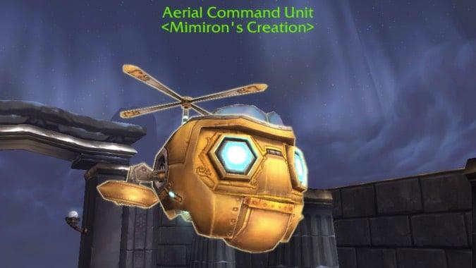 aerial command unit beast mastery header