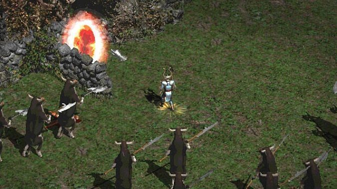 A history of the Secret Cow Level and the many games it's appeared in since Diablo 2