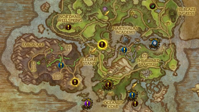 Legion World Map.Where Do I Get World Quests In Wow Legion Blizzard Watch