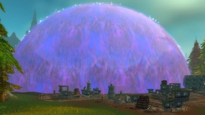 dalaran bubble