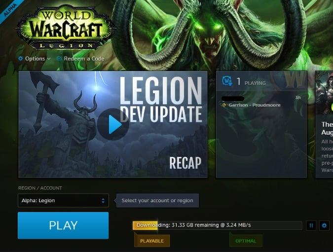 legion beta download
