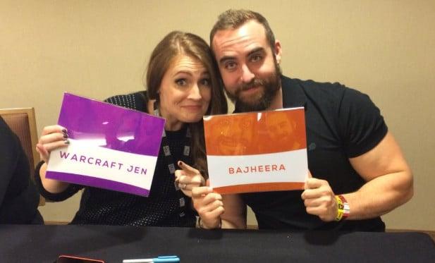 Bajheera and Warcraft Jen