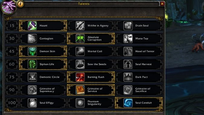 affliction-leveling-talents