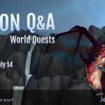 Legion world quest Q&A with Jeremy Feasel liveblog