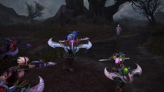 Demon hunters and khadgar