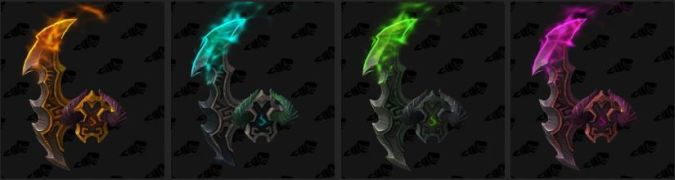 Illidari Crest Appearances