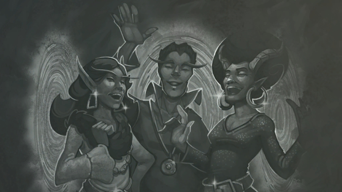 Image result for hearthstone party portal