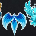 Stickers, prints, and more Blizzard Watch merchandise
