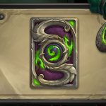 Hearthstone's September card back features the Burning Legion