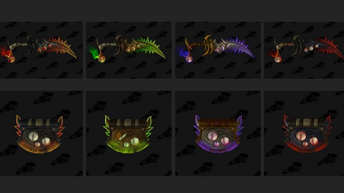 have you obtained a hidden artifact appearance blizzard watch