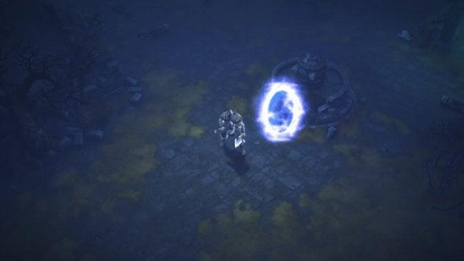 Diablo 3 Darkening of Tristram Portal