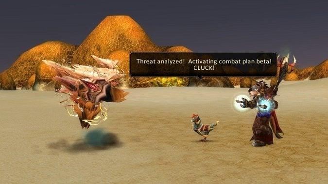 chicken escort quest